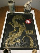 Ween Todd Slater Poster 2011 Denver Fillmore Signed and #'d Mint Poster Print