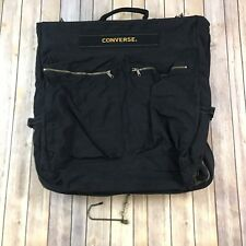 Chuck Taylor Converse All Star Black Duffle Travel Athletic Bag Pocketed Sharp!