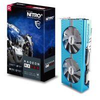 SAPPHIRE Radeon RX 580 8GB Super OC Gaming Video Card NITRO+ AMD Graphics 4K VR