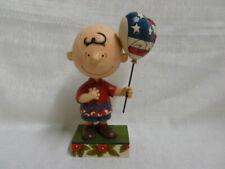 Jim Shore Peanuts Charlie Brown Allegiance Snoppy and Woodstock Figurine 4043618