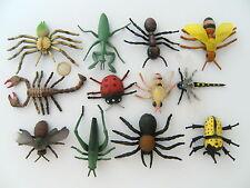 Insekten Käfer Marienkäfer Skorpion Spinne 12erSet ca. 8cm Biene Ameise neu