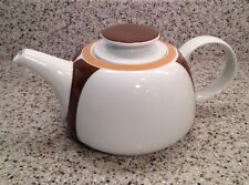 MELITTA Germany Mid-Century ARCHITECTURAL Design 4-CUP Porcelain LIDDED TEAPOT