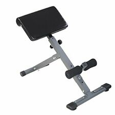 Adjustable Back Hyperextension Fitness Bench for Home & Gym Abdominal Workouts