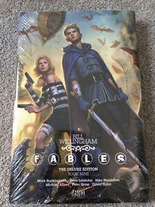 Fables Deluxe Edition Volume 9 HC SEALED OOP Hardcover DC Vertigo