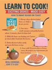 Aprender A Cocinar: judías con pan tostado Acero Signo (OG 2015)