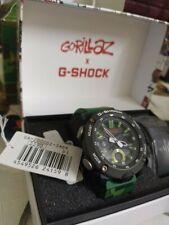 Casio G-Shock Gorillaz Collaboration Limited Model Watch Two Straps GA2000GZ-3A