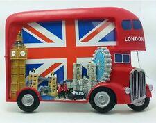London Bus Photo Frame Big Ben,Tower Bridge London Eye,  Souvenir Gift