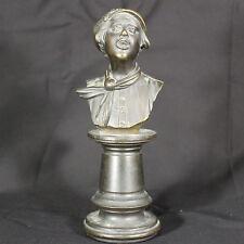 Bronzo di Giovane h. cm. 23 XIX secolo