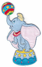 DISNEY - DUMBO ELEPHANT w/BALL - CARTOON - MOVIE - Iron On Embroidered Patch