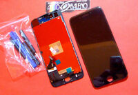 DISPLAY LCD +VETRO TOUCH SCREEN PER APPLE IPHONE 7 RETINA A1660 A1778 NERO AAA