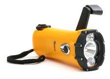 Flashlight  LED Waterproof Emergency Camping Crank Generated Wind 'N Go 1-Watt