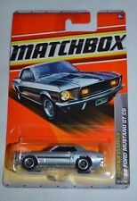 2011 MATCHBOX HERITAGE CLASSICS '68 FORD MUSTANG GT CS 25/100 FREE SHIPPING