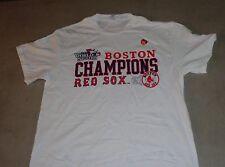 40996122 Majestic Men's Boston Red Sox 2013 World Series Champions Locker Room T- shirt