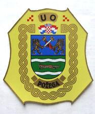 CROATIA ARMY -  HV ,   UO POZEGA ,  Seldom seen sleeve patch