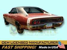1968 Dodge Charger R/T RT Bumble Bee Decals & Stripes Kit