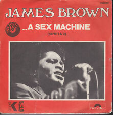 James Brown Get Up / A Sex Machine Parts 1 & 2 France Import 45 W/PS