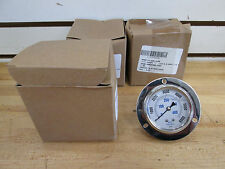 US MILITARY 6000 PSI, GLYCERINE FILLED PRESSURE GAUGES, P/N: CF-1P-420-E ~NEW~