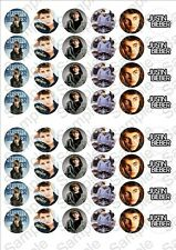Justin bieber Rice Paper Fairy Cake Toppers x 48  JB1