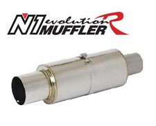 "APEXi Apex'i N1 Evolution R Universal Muffler, 3"" Inlet / 115mm Tip (156-A103)"