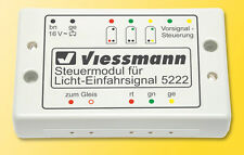 SH Viessmann 5222 Steuermodul für Licht-Einfahrsignal Fabrikneu