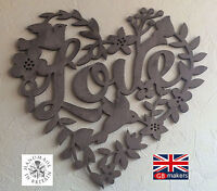 Love Heart Wall Carving Wall Hanging Art Decoration Rustic Decoration