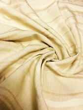 100% COTTON DAMASK CURTAIN UPHOLSTERY FABRIC 0.9 METRES