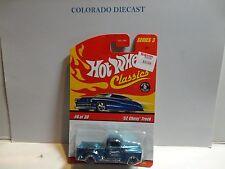Hot Wheels Classics Series 3 #6 Blue '52 Chevy Truck
