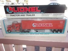LIONEL TRAIN O O27 LIONEL LINES Tractor and Trailer 1:43 NIB 6-12725 NIB