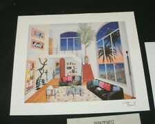 """FRANCOIS LEDAN (FANCH) """"INTERIOR WITH THREE MATISSE""""! 9""""X7 1/4""""! W/CERTIFICATE!"""