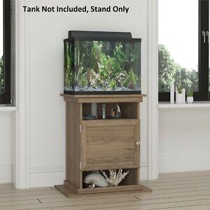 Aquarium Stand Fish Tank Holder Display Shelf Supply Cabinet Wood 10-20 Gal SM
