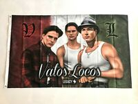 Vatos Locos 3ftx5ft flag banner Blood In Blood Out limited edition chicano art