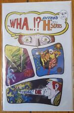 "..Wha..!? Ditko's ""H"" Hero Series #3 features Mr. A 1-2 Avenging World Unread"