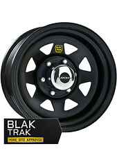 ROH WHEEL 16X8 TRAK 2 (SUNRAYSIA) BLACK (PCD:6X139.7  OFFSET:P20)