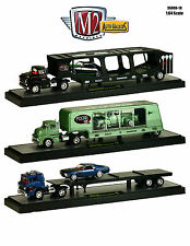"AUTO HAULERS RELEASE 18 ""CHIP FOOSE"" 3 TRUCKS SET 1/64 M2 MACHINES 36000-18"