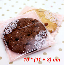 30 X Pink Lace Gift Bags Lolly Favours Bonbonniere Party Candy Treat Cellophane
