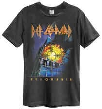 Def Leppard 'Pyromania' (Charcoal) T-Shirt - Amp   - NEW & OFFICIAL