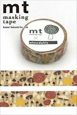 MT Washi Masking Deco Tape Mushroom Designed by almedahls