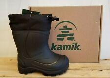 New Kamik Snobuster Winter Boots Black For Children