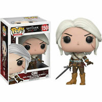 Funko Pop! The Witcher #150 Ciri Neuf Vinyl Collection Boîte Rare Exclusive