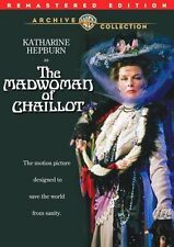 THE MADWOMAN OF CHAILLOT (1969 Remastered) ) Region Free DVD - Sealed
