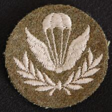 Canadian Army Trade Badge - PARACHUTE INSTRUCTOR Grp 2.