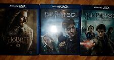 Harry Potter and the Deathly Hallows: Part 1/2 3D Hobbit Unexpected Journey Lot