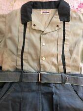 Vintage Santone Boys Shortset Shorts Shirt Sz 4 1950s
