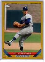 Don Sutton 2019 Topps Archives 5x7 Gold #219 /10 Dodgers