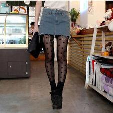 Women's Slim Pantyhoses Ladies Sexy Polka Dot Fishnet Stockings Tights