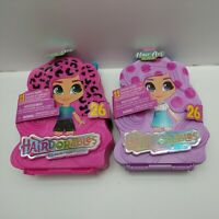 Hairdorables Doll Hair Art Carry Case x 2 - (No Cellophane Around Packaging) S3