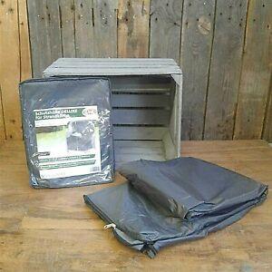 DELUXE Schutzhülle für Strandkörbe, 130 x 100 x 170/134 cm Wasserdicht