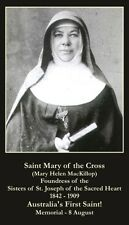 St Mary MacKillop Prayer CARD (wallet size)