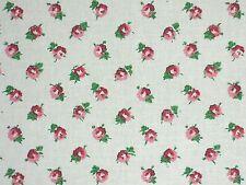 Laura Ashley LA1029 DITSY 70 RASPBERRY Home Decor Cotton Drapery Fabric