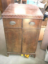 Antique/Vintage Philco Console TV Model # 50-T1633 1950's Doors Slanted Glass